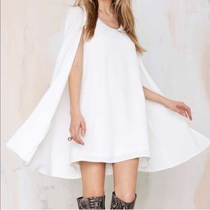 Brand New with Tag Nasty Gal Cape Dress in Small